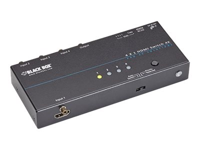 Black Box 4K HDMI Switch - 4 x 1