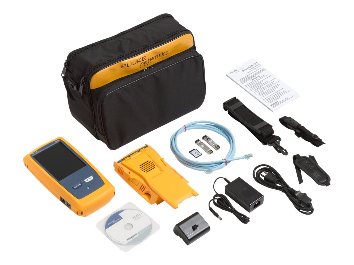 Fluke OneTouch AT 10G Ethernet Tester, 1T10G-1000, 18791251, Network Test Equipment