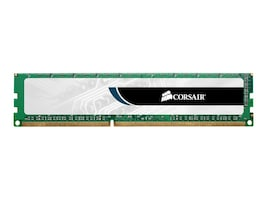 Corsair 2GB PC3-10600 240-pin DDR3 SDRAM UDIMM, VS2GB1333D3, 9977758, Memory