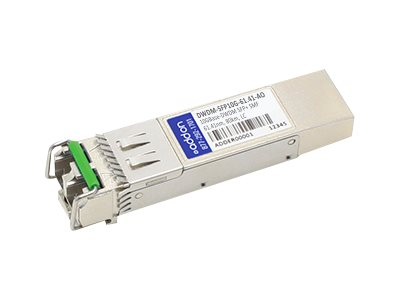 ACP-EP AddOn 10GBASE-DWDM SFP+ 80KM For Cisco