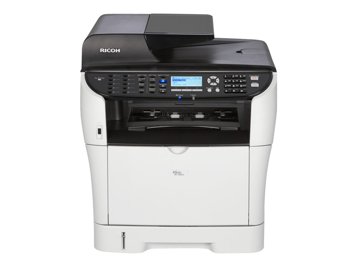 Ricoh SP3510SF Black & White Laser Printer, 406971, 14269393, Printers - Laser & LED (monochrome)