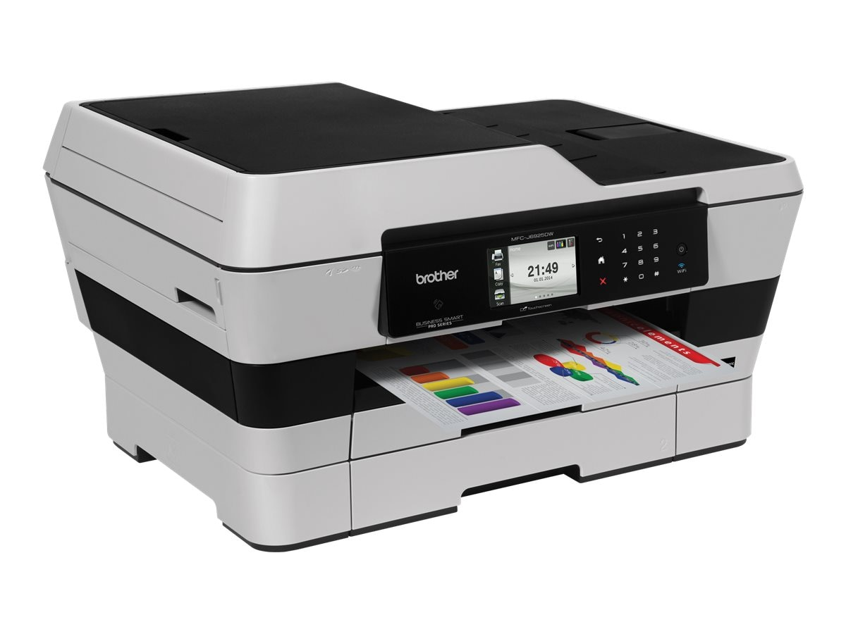 Brother Business Smart Pro 4-in-1 Inkjet Printer, MFC-J6925DW, 19697397, MultiFunction - Ink-Jet