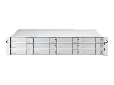 Promise 72TB 2U 12-Bay FC 16Gb s Single Controller RAID Subsystem w  12X6TB SAS 12Gb s 7.2K RPM Hard Drives, E5300FSQS6