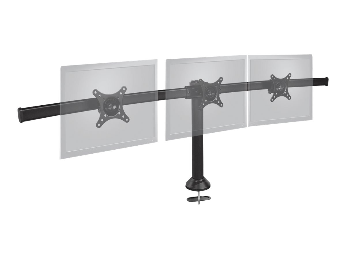 Siig Triple Monitor Desk Stand to 13 to 24 Displays, CE-MT1812-S1