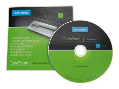 DYMO CardScan Executive 9.0 SW CD-ROM, 1806065