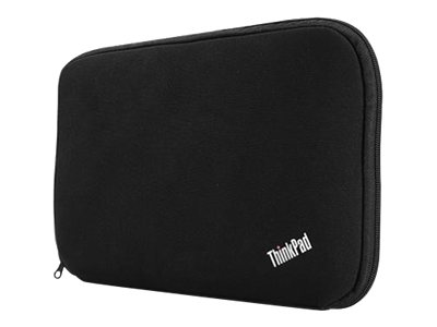Lenovo ThinkPad Fitted Reversible Sleeve, 13, Black, 0B47410, 15114756, Carrying Cases - Notebook