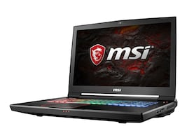 MSI GT73 Titan Pro Core i7-7820 2.9GHz 16GB 256GB+1TB ac BT WC 8C GTX1080 17.3 FHD W10, GT73VR425, 33589923, Notebooks