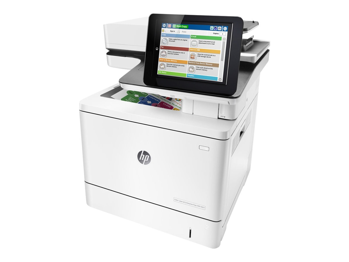 HP Color LaserJet Enterprise Flow MFP M577c (TAA Compliant), B5L54A#201, 30779975, MultiFunction - Laser (color)