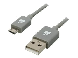 IOGEAR Micro USB Charge and Sync Cable, 9.8ft, GUMU03, 17377120, Cables