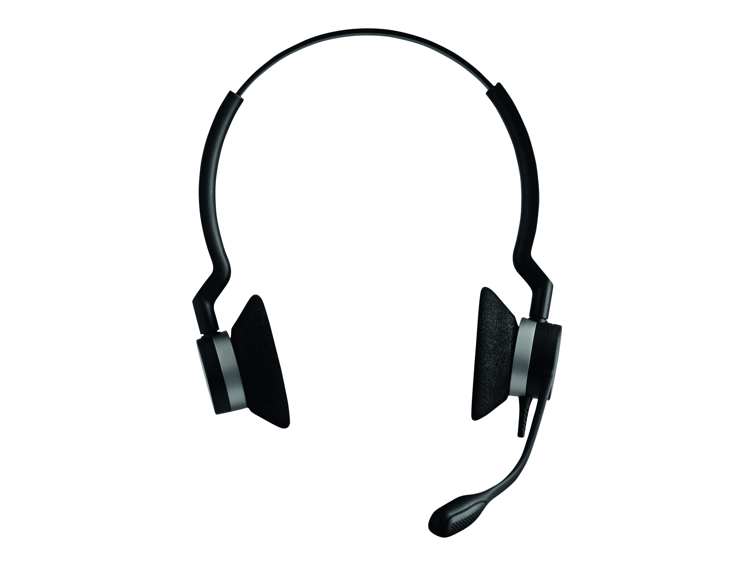 Jabra BIZ 2300 Duo NC Headset w  Bag & Leather Cushion, 230982-88011-119