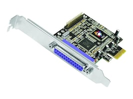 Siig Dual Port CyberParallel Dual PCIe Controller, JJ-E02211-S1, 17691565, Controller Cards & I/O Boards