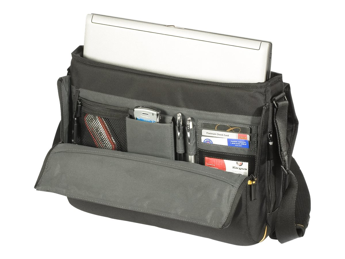 Targus Meridian Messenger Notebook Carry Case Poly, Black (Dell Only)