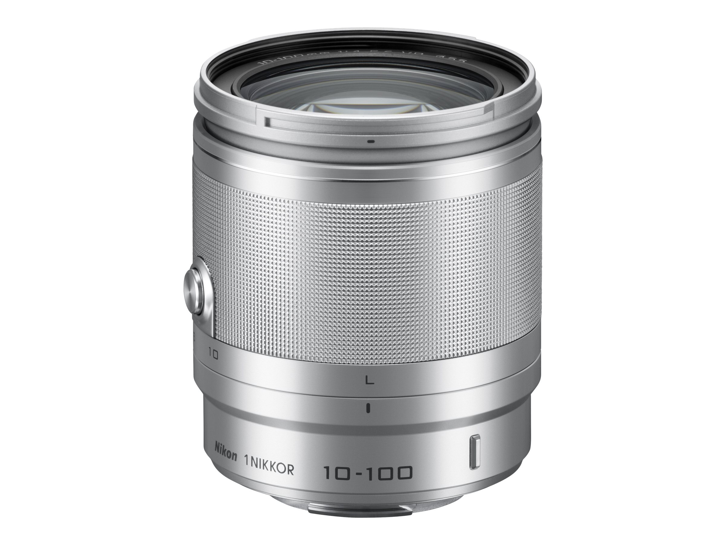 Nikon Nikkor 10-100mm f 4.0-5.6 VR Lens, Silver, 3328, 15256746, Camera & Camcorder Lenses & Filters