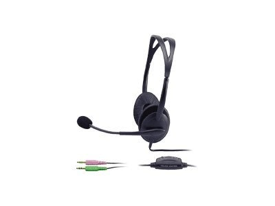 Cyber Acoustics AC-400 Binaural Headset, AC-400MV-US, 5218439, Headsets (w/ microphone)