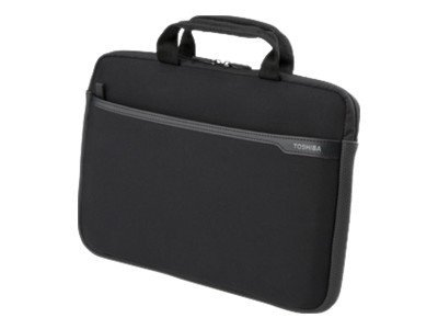 Toshiba 14.1 Neoprene Case - Black, PA1455U-1SN4, 31759159, Carrying Cases - Notebook
