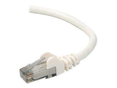Belkin Cat6 UTP Patch Cable, White, Snagless, 7ft, A3L980-07-WHT-S