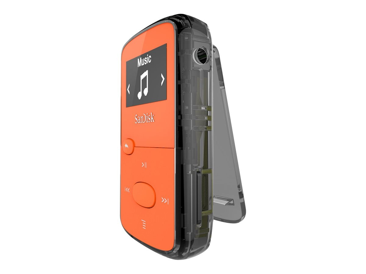 SanDisk Clip JAM Bright Orange