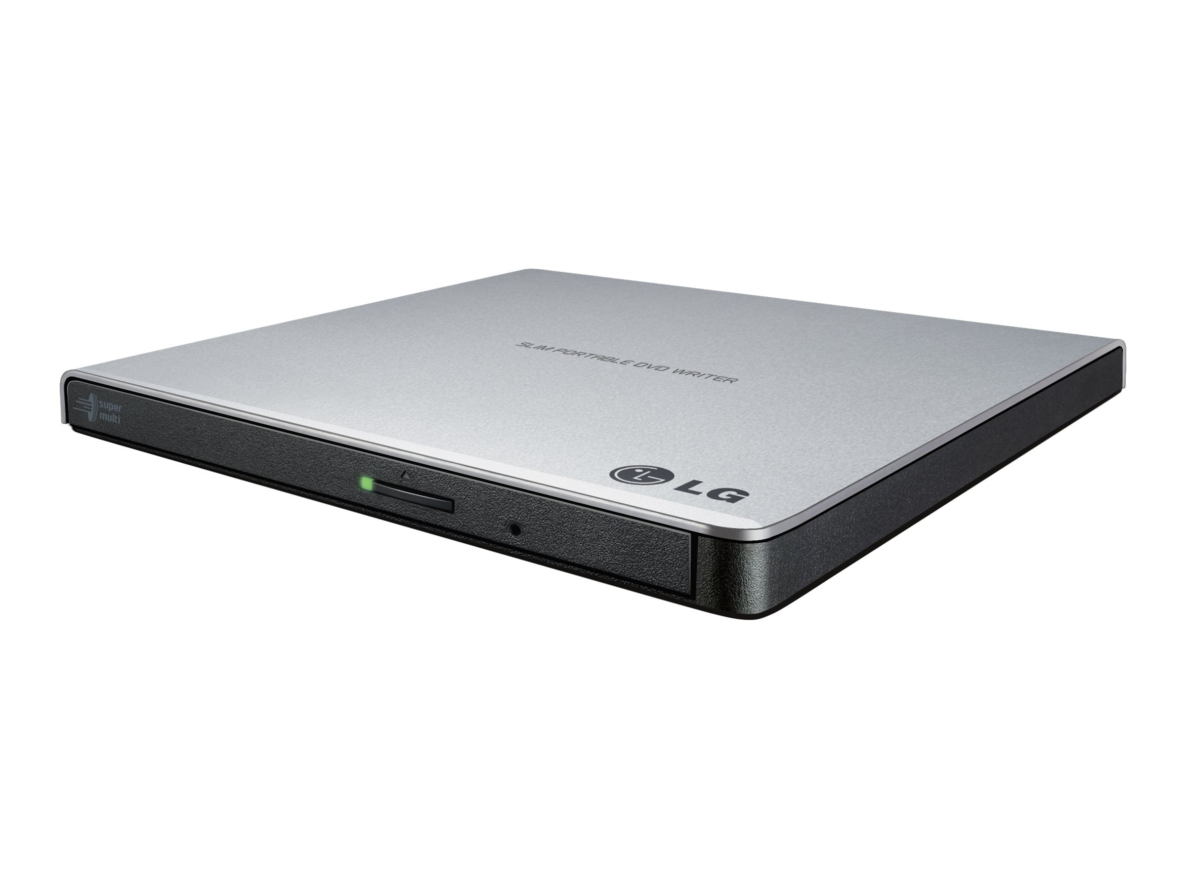 LG Ultra-Slim Portable DVD Burner & Drive w  M-Disc Support, GP65NS60, 17922968, DVD Drives - External