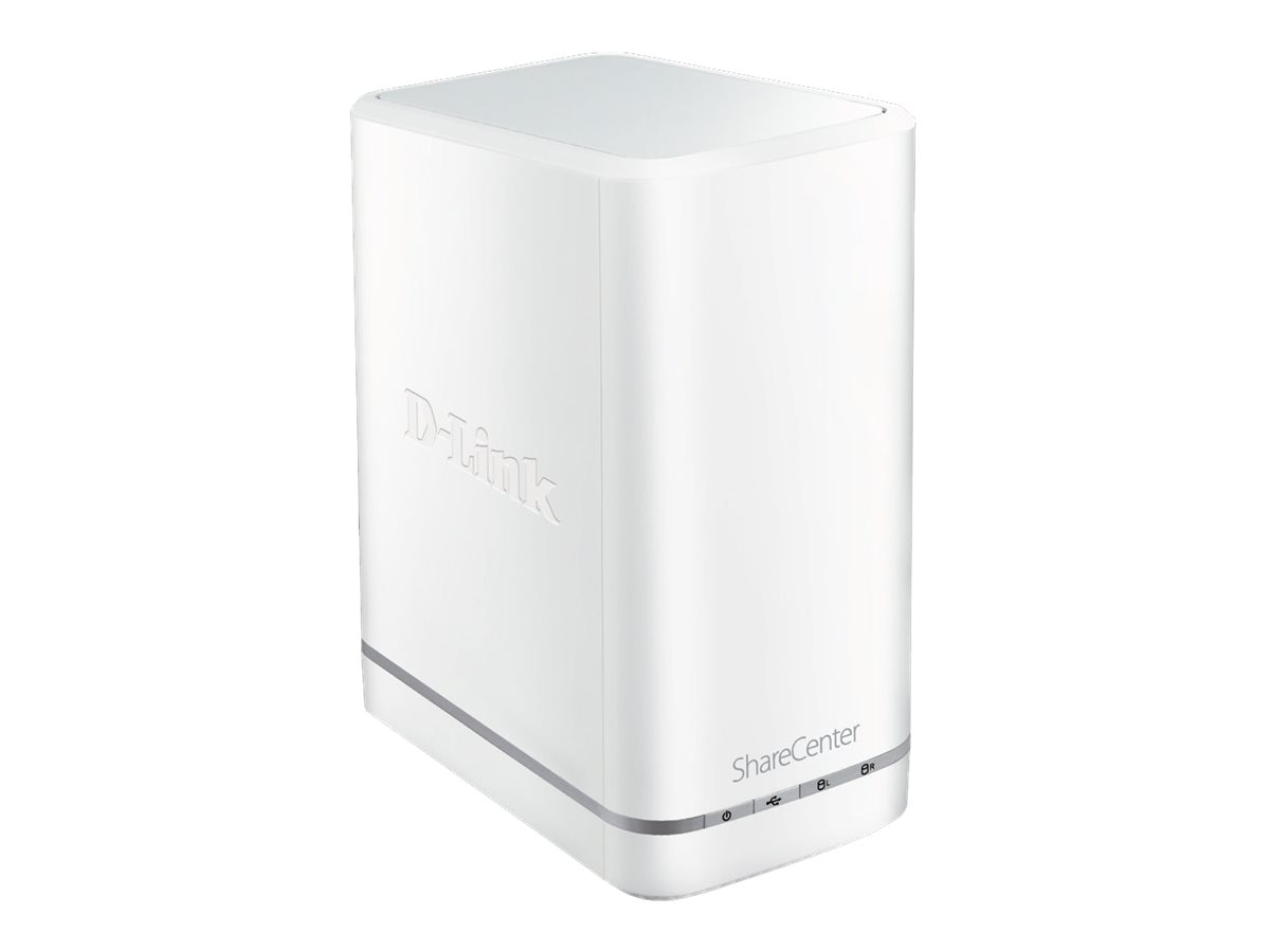 D-Link ShareCenter 2100 2 Bay NAS, DNS-327L, 15744942, Network Attached Storage