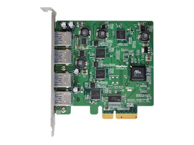 HighPoint 4-Port USB 3.0 PCI-Express 2.0 x4 RAID HBA, RU1144CM, 15449601, Host Bus Adapters (HBAs)