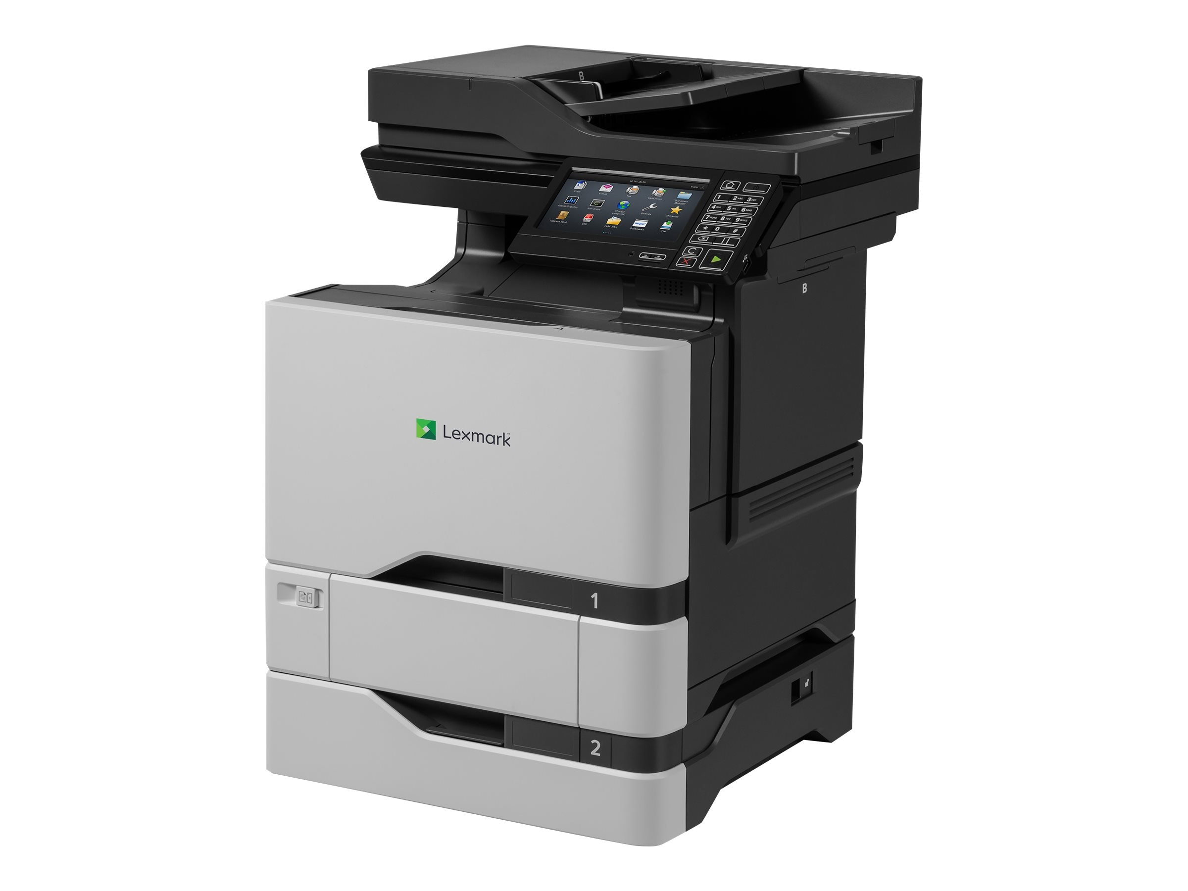 Lexmark CS720dte Color Laser Printer, 40C9101, 31435728, Printers - Laser & LED (color)