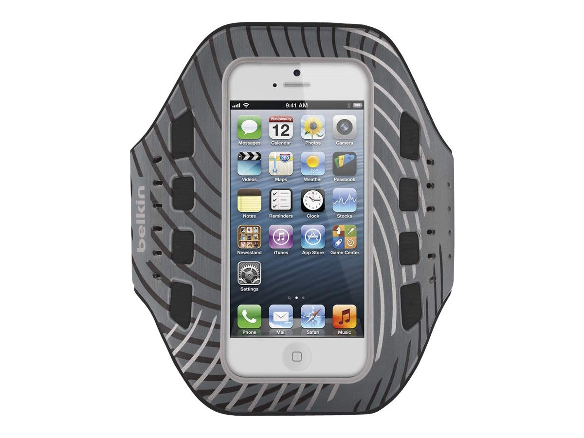 Belkin Pro-Fit Armband, Reflection for iPhone5, F8W107TTC01, 14860722, Carrying Cases - Phones/PDAs