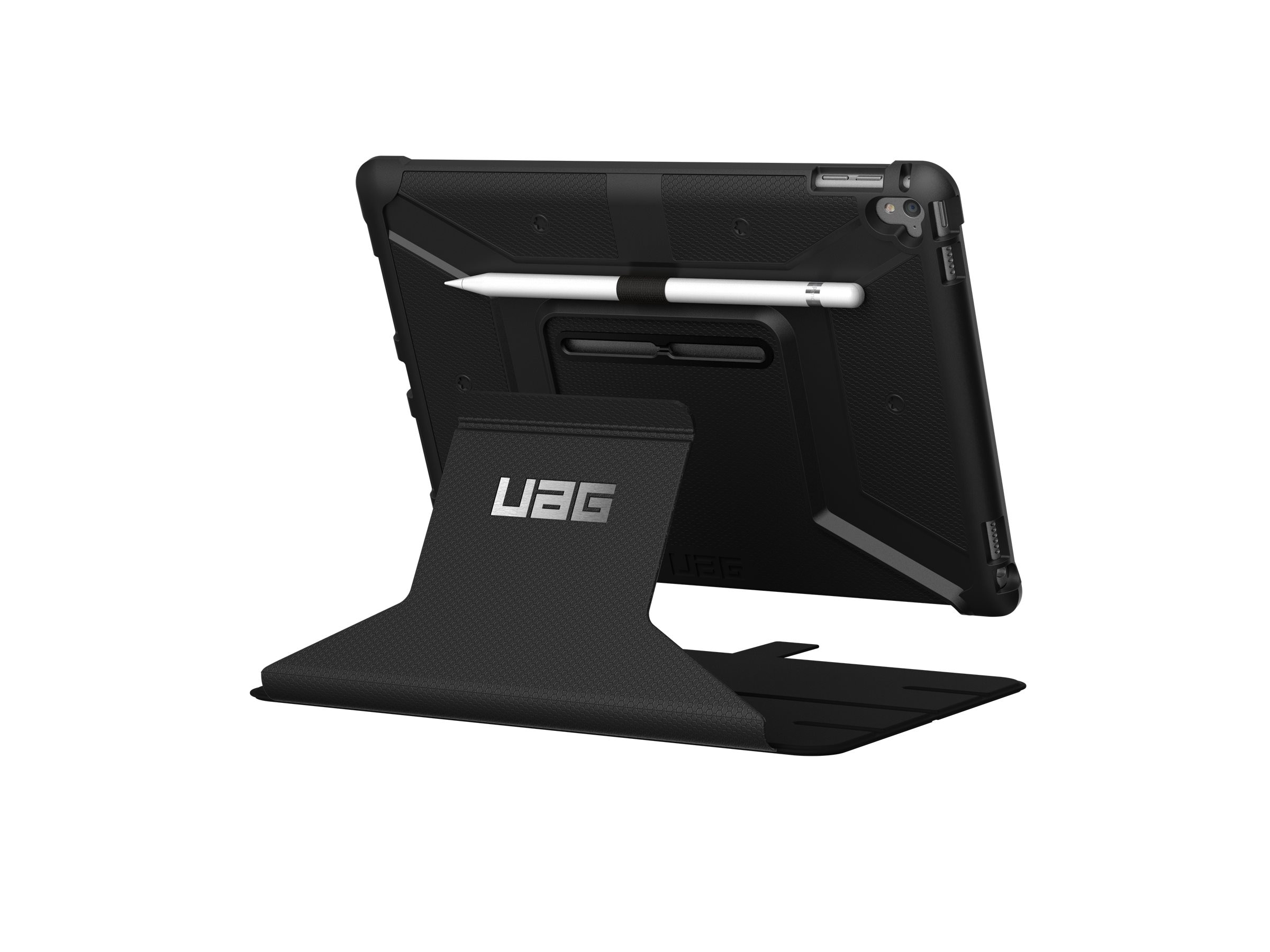 Urban Armor Folio Case for iPad Pro 9.7, Black, IPDPRO9.7-BLK