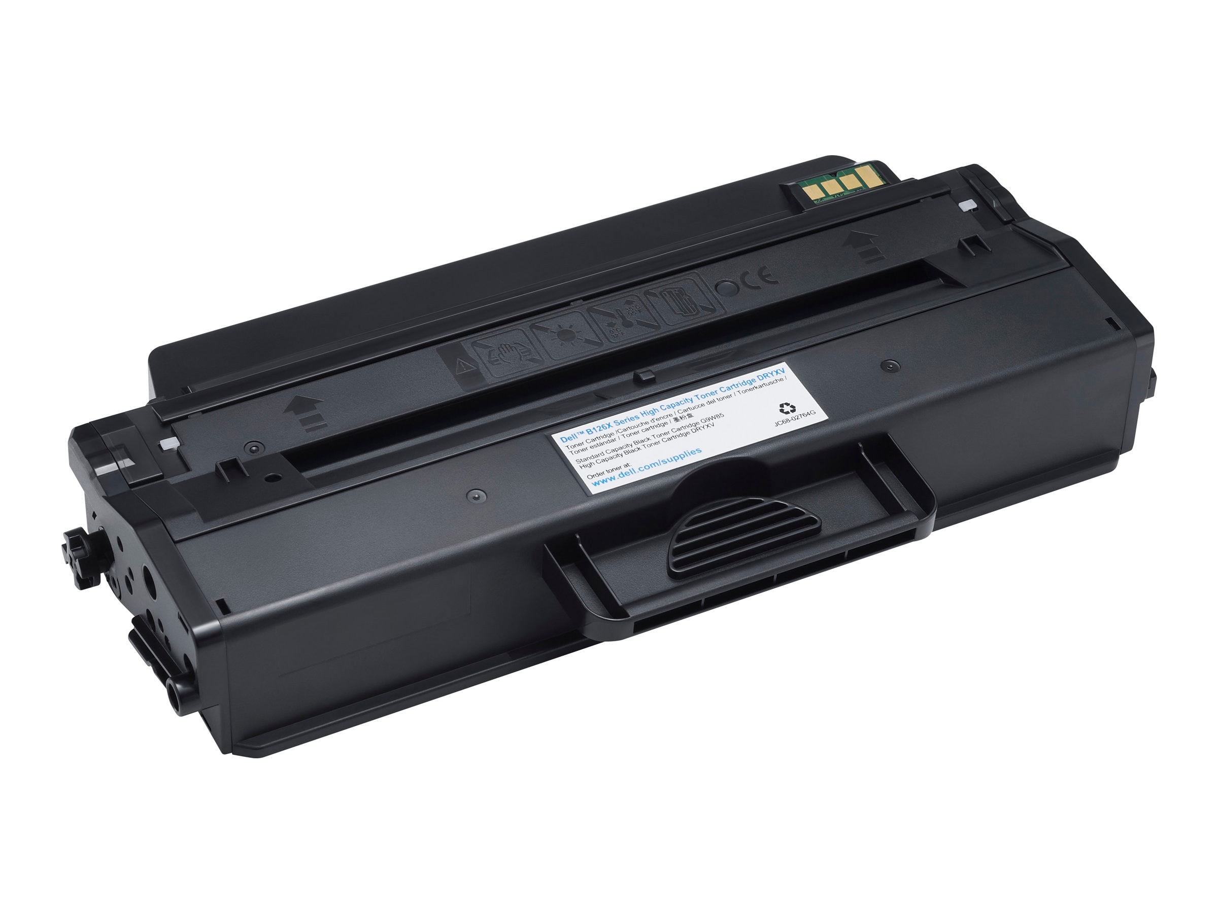 Dell Black Toner Cartridge for B1260dn  B1265dnf  B1265dfw Printers, DRYXV