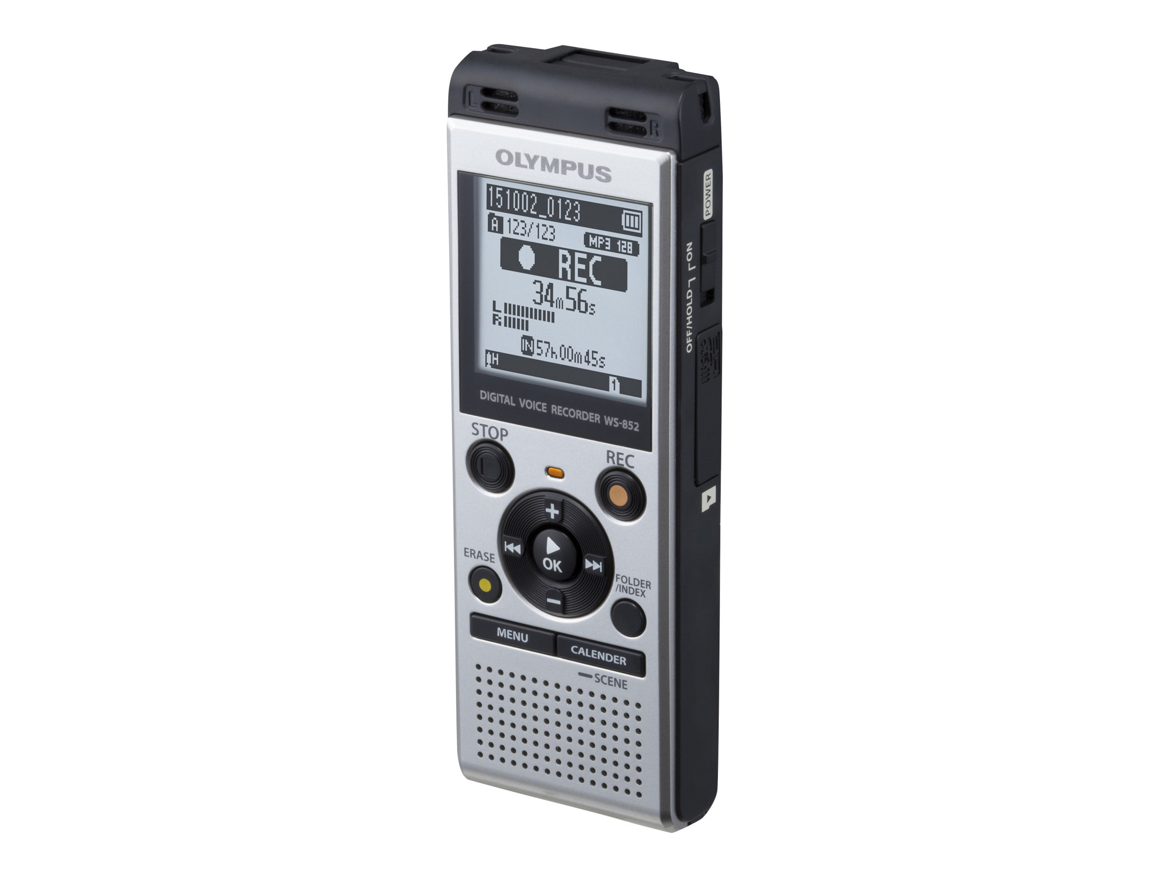 Olympus WS-852 4GB Digital Voice Recorder, V415121SU000, 31166311, Voice Recorders & Accessories