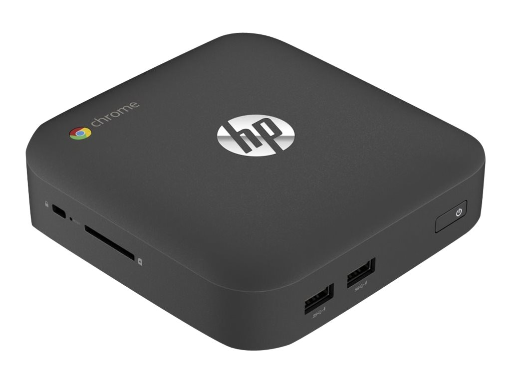 HP Chromebox 1.4GHz Celeron 4GB RAM 16GB hard drive, K1L50UT#ABA