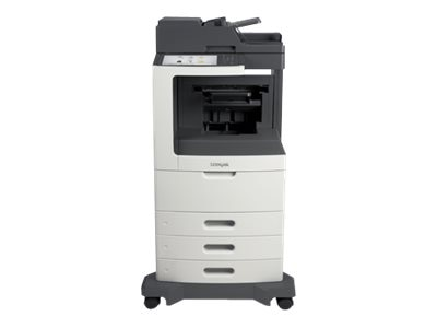 Lexmark MX810dte Monochrome Laser Multifunction Printer, 24T7411