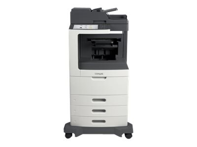Lexmark MX810dte Monochrome Laser Multifunction Printer