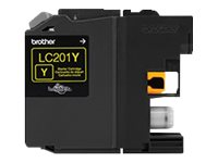 Brother Yellow LC201Y Innobella Standard Yield Ink Cartridge