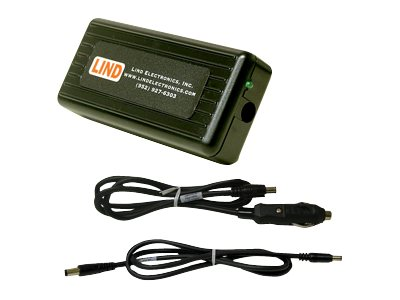 Lind DC Adapter for HP 100 Printer w  Vehicle Outlet Plug, HP1935-3781, 15226361, Power Converters