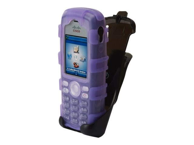 Zcover Purple SIL Dock in Case7 925 w Holster & Belt Clip