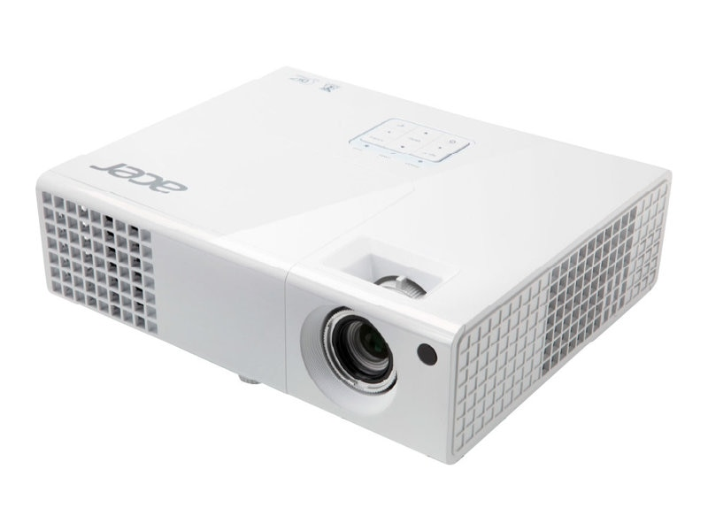 Acer P1173 SVGA DLP Projector, 3000 Lumens, White
