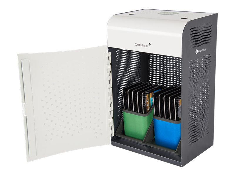 Lock N Charge 10-Unit Carrier Notebook Charging Cabinet, LNC8200, 26687429, Charging Stations