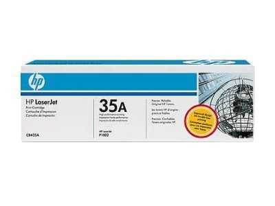 HP 35A (CB435D) 2-pack Black Original LaserJet Toner Cartridges for HP LaserJet P1005 & P1006 Printers, CB435D