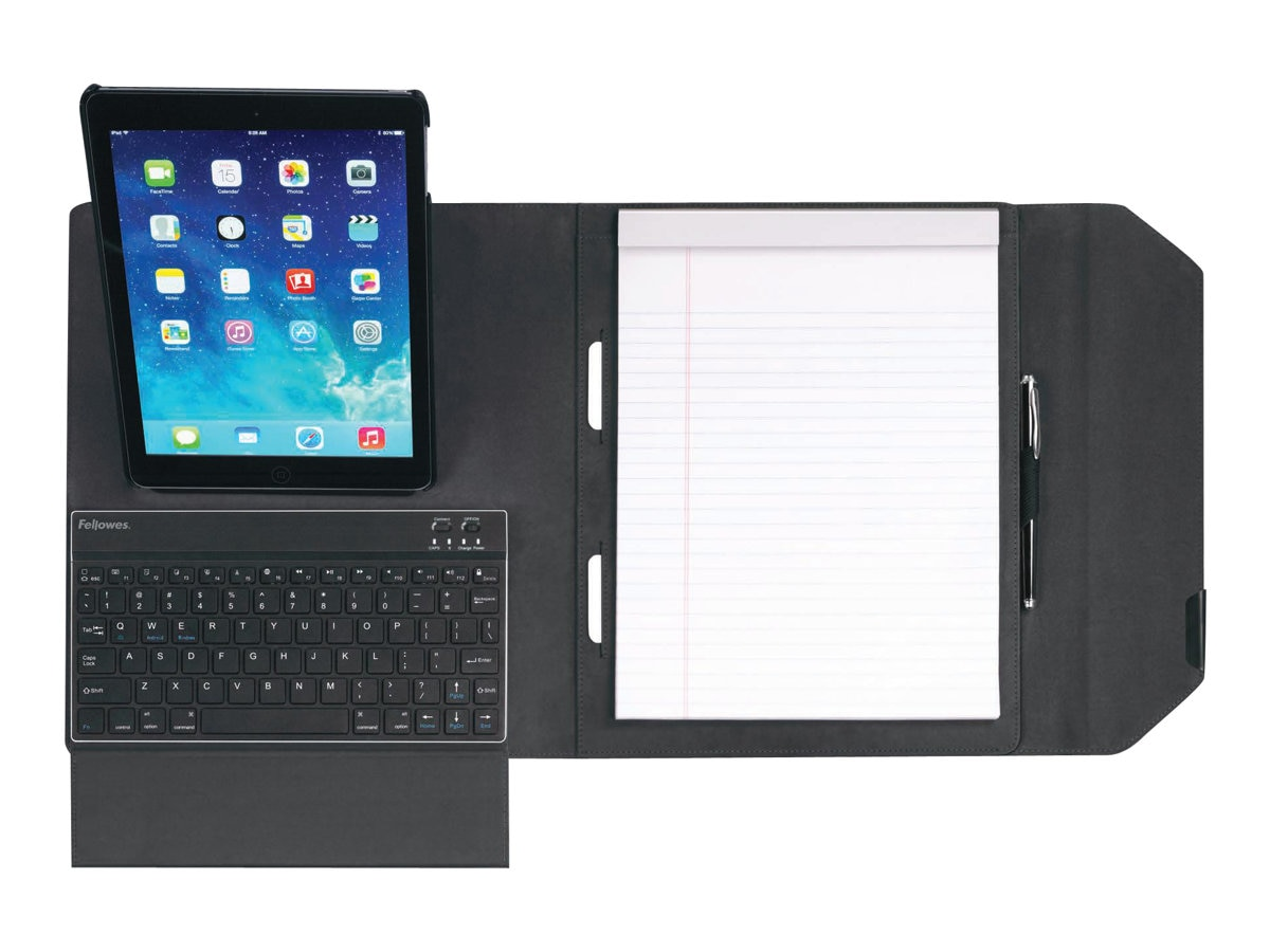 Fellowes Mobilepro Series Deluxe Folio for iPad Air, Air 2, mini