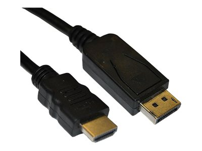 4Xem HDMI to DisplayPort M M Cable, 6ft, 4XDPMHDMIMCBL
