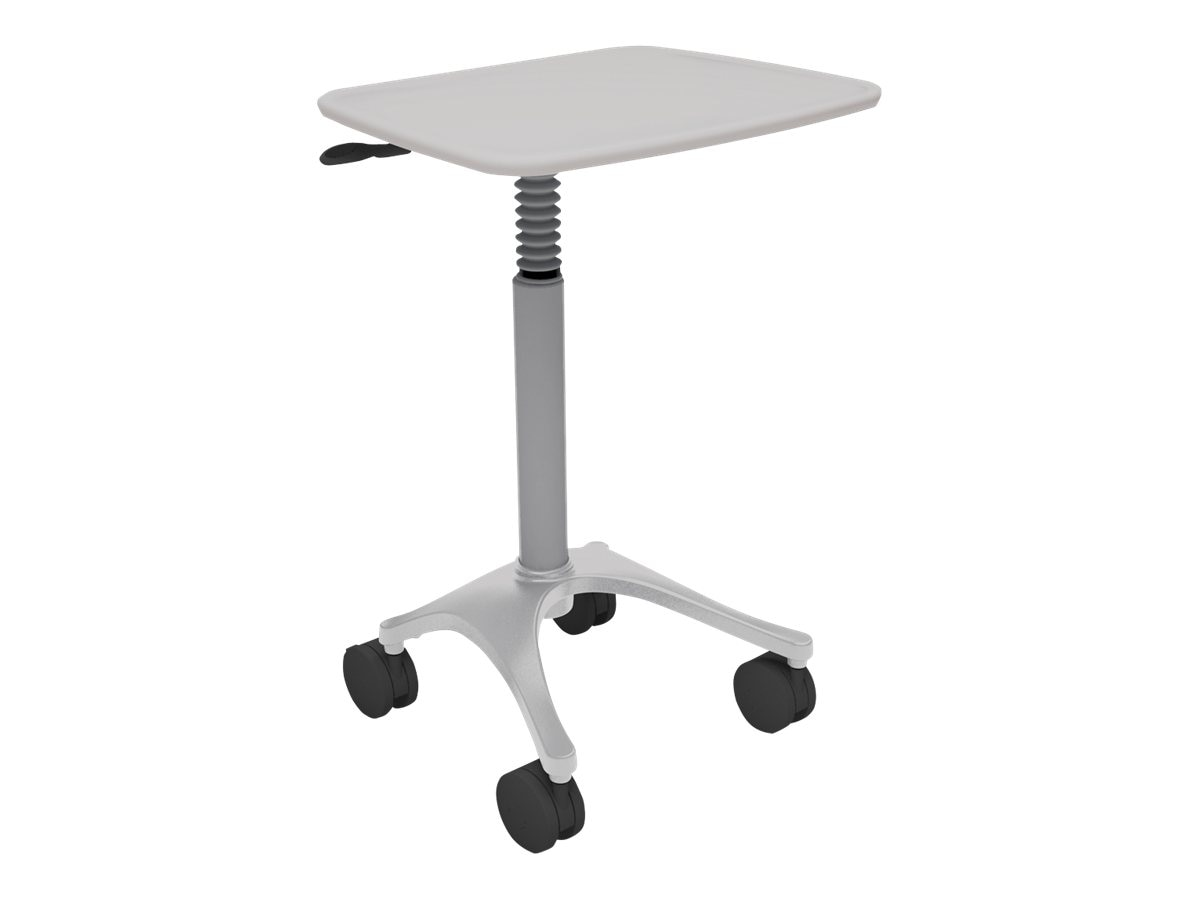 Ergotron Height Adjustable Zido Cart, Cool Gray