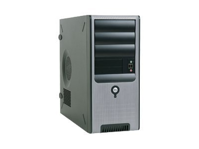 In-win Chassis, Mid-Tower, ATX, 8 Bays, W IP-S350AQ2 FN U+HD+Y Airduct, C583T.AQ350BL, 8548231, Cases - Systems/Servers