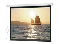 Da-Lite Slimline Electrol Projection Screen, Matte White, HDTV, 92