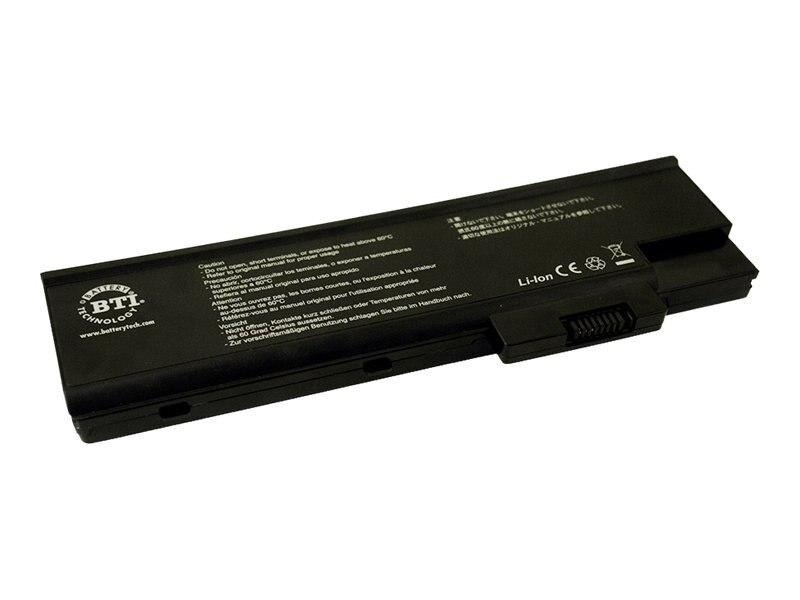 BTI Li-Ion Battery, 14.8V, 4400mAh for Acer Aspire 1410, Replacement Battery T5003 T5005 T5007, AR-4000H, 7018334, Batteries - Notebook