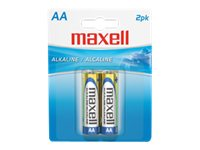 Maxell Battery, Alkaline AA Cell (2-pack) - Must order in qtys of 12, 723407, 9783881, Batteries - Other