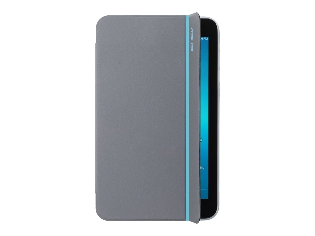 Asus MagSmart Cover for MeMO Pad ME176, Blue Stripe, 90XB015P-BSL1K0, 18012069, Carrying Cases - Tablets & eReaders