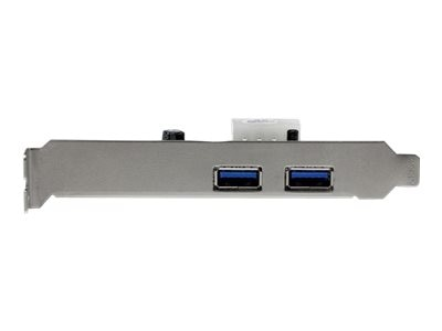 StarTech.com 2-Port PCI Express (PCIe) SuperSpeed USB 3.0 Card Adapter with UASP - LP4 Power, PEXUSB3S25