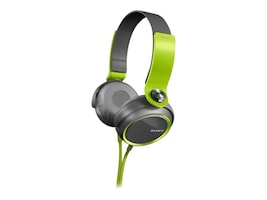 Sony Extra Bass 30mm Headphones - Green, MDRXB400/GRN, 14764001, Headphones