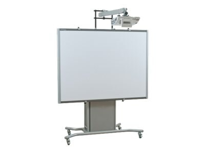 Balt ITeach2 Short Throw Arm Mobile Whiteboard Stand, 27634