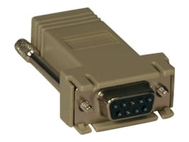 Tripp Lite Crossover Adapter RJ-45 DB9 (F) for Console Servers, B090-A9F-X, 9996502, Adapters & Port Converters